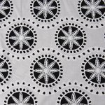hollow lace fabric