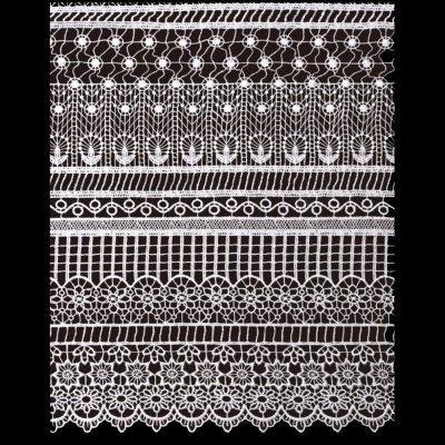 Chemical Lace Fabric MHDS30006