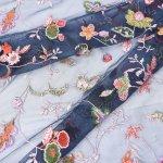 Mesh Lace Fabric W007237-1
